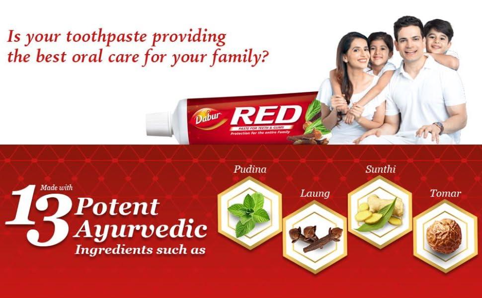 toothpaste ; toothpastes ; colgate ;  red paste; ayurvedic paste ; herbal paste