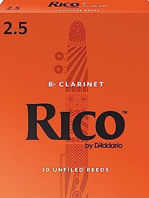 rico; clarinet reeds; clarinet; vandoren