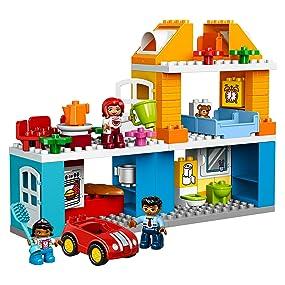 lego duplo 10835 familienhaus spielzeug f r drei j hrige spielzeug. Black Bedroom Furniture Sets. Home Design Ideas