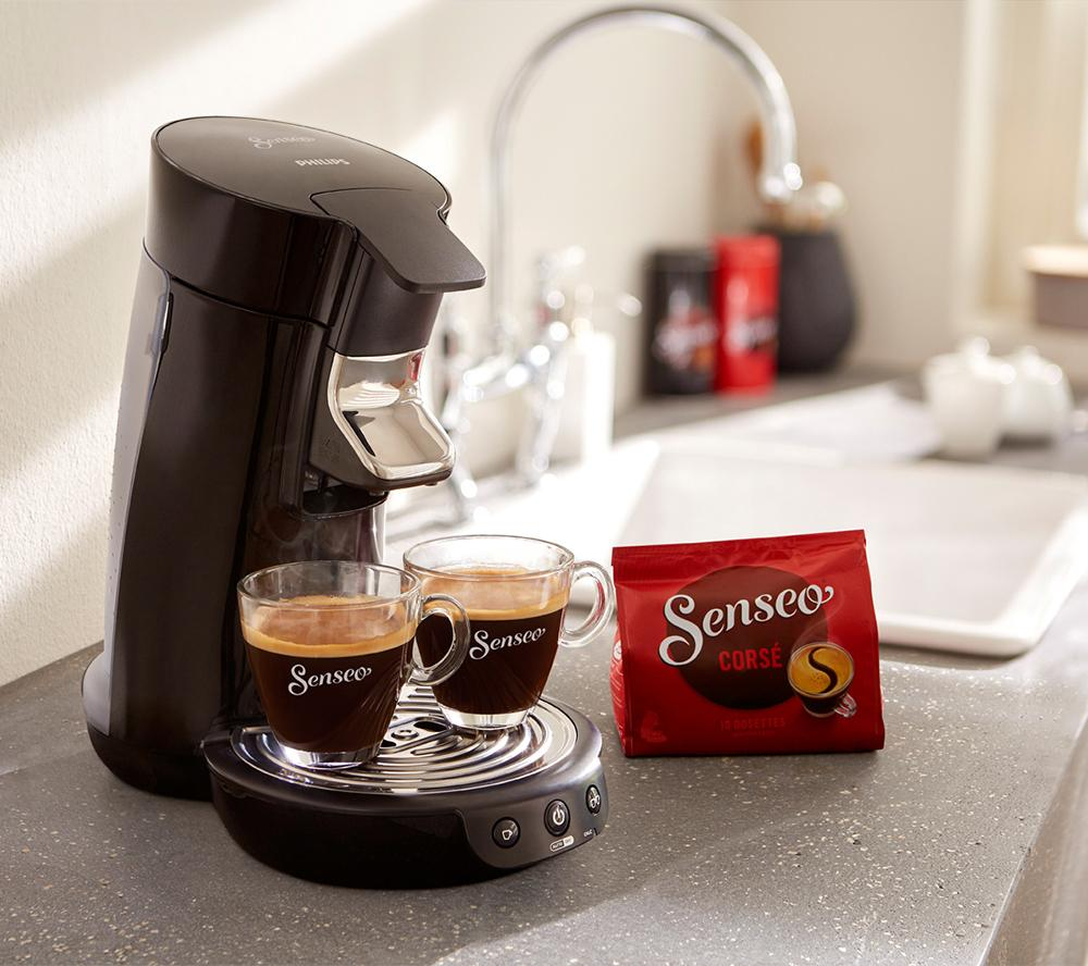 philips senseo hd7825 viva caf kaffeemaschine padmaschine kaffeepadmaschine top ebay. Black Bedroom Furniture Sets. Home Design Ideas