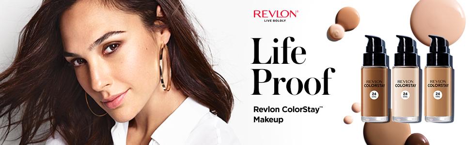 Foundation, makeup, cosmetics, Revlon, face, life proof
