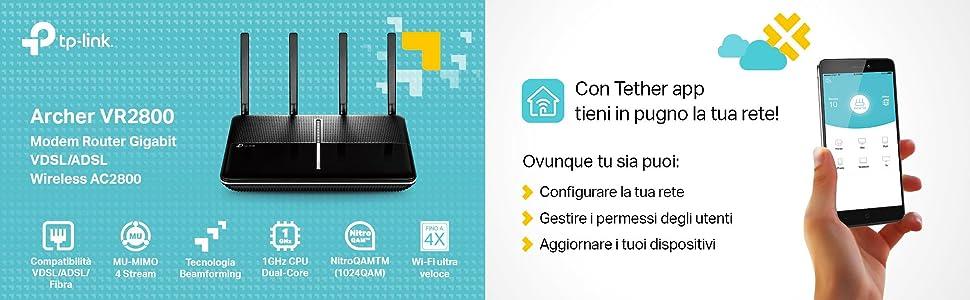 Modem Router TP-Link Archer VR2800