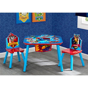 Amazon Com Delta Children Kids Chair Set And Table 2 Chairs