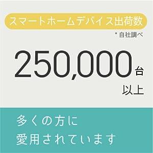 リンクジャパン社のスマートホームデバイス出荷数が25万台を超えました。