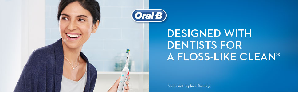 Designed with dentists for a floss-like clean.
