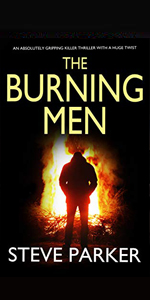 the burning men ray paterson steve parker crime thriller mystery kindle joffe uk detective di