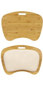 bamboo, lapgear, lap desk, natural, wood, lap tray, laptop, work, crafts, homework, student
