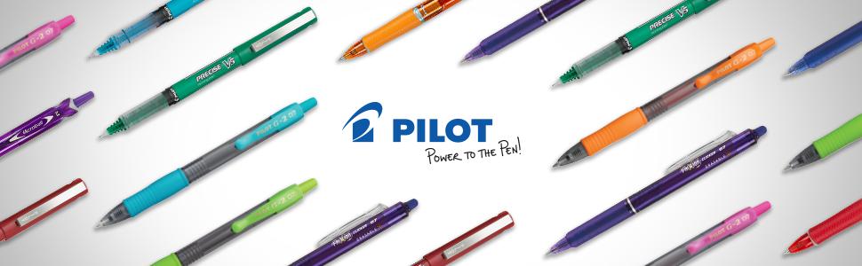 Pilot Precise, gel pens, papermate, roller ball, fountain pens, custom pens, fiskars, best gel pens