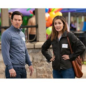 -Mark Wahlberg as Pete and Rose Byrne as Ellie