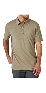 ATG x Wrangler Performance Polo Short Sleeve Shirt