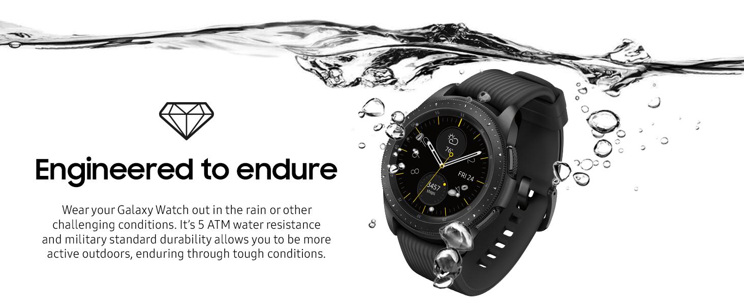 Samsung Galaxy Watch Smartwatch Black 42mm with LTE