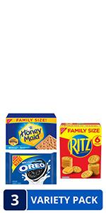 RITZ OREO Honey Maid Variety Pack