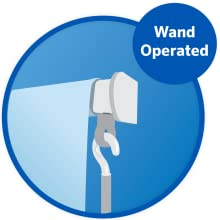 FV Wand Operated Roller Shade Mocha