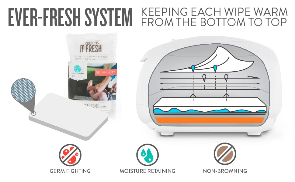 wipes warmer and ever fresh pillow