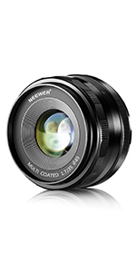 Neewer 25mm F 1 8 Manual Focus Main Fixed Lens For Camera Photo