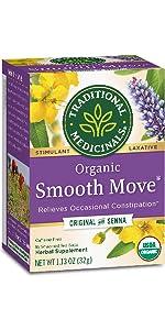 senna, tea, smooth move, wellness