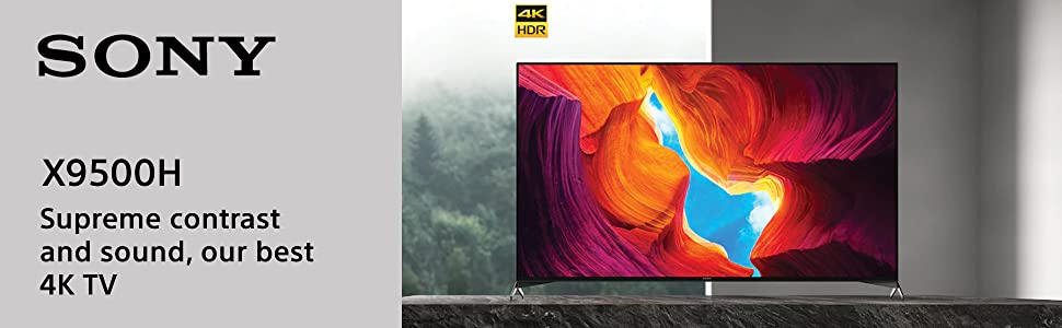 Sony X9500H Television