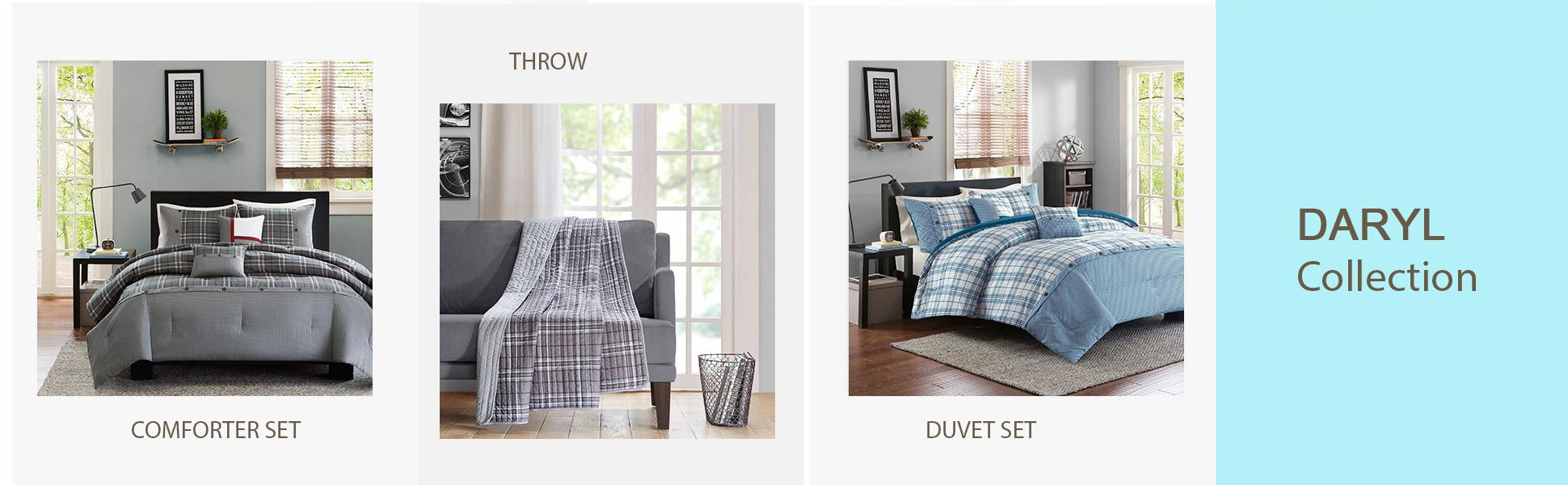 Amazon Com Intelligent Design Daryl 5 Piece Comforter Set