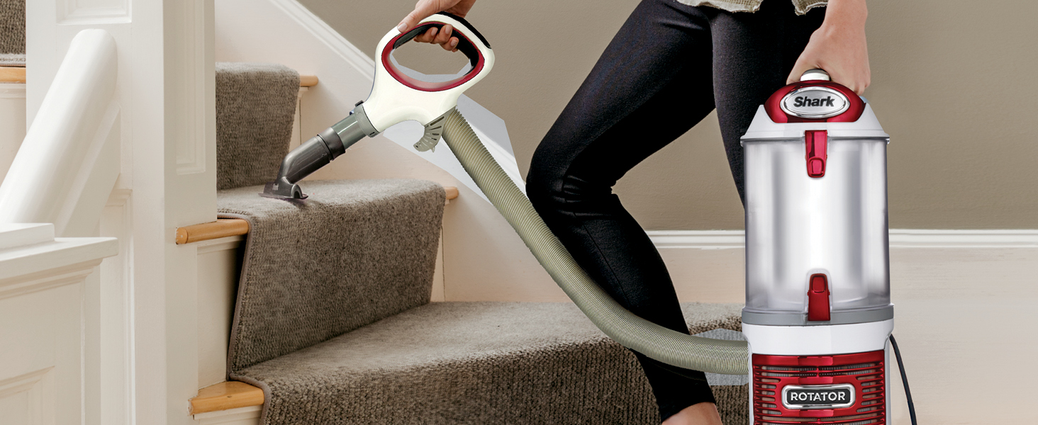 lift away, lightweight pod, removable pod, detachable pod, stair cleaning