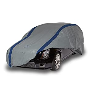 Amazon Com Duck Covers A3sw200 Weather Defender Station Wagon Cover For Wagons Up To 16 8 Gray Navy Blue 200 Inch Length X 60 Inch Width X 60 Inch Height Automotive