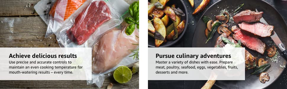 Instant Accu Slim Sous Vide Immersion Circulator - Achieve delicious results and culinary adventures