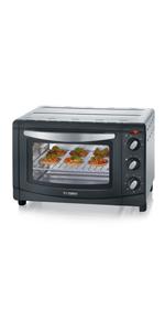 SEVERIN TO 2060 Horno Tostador incluye Rejilla grill y ...