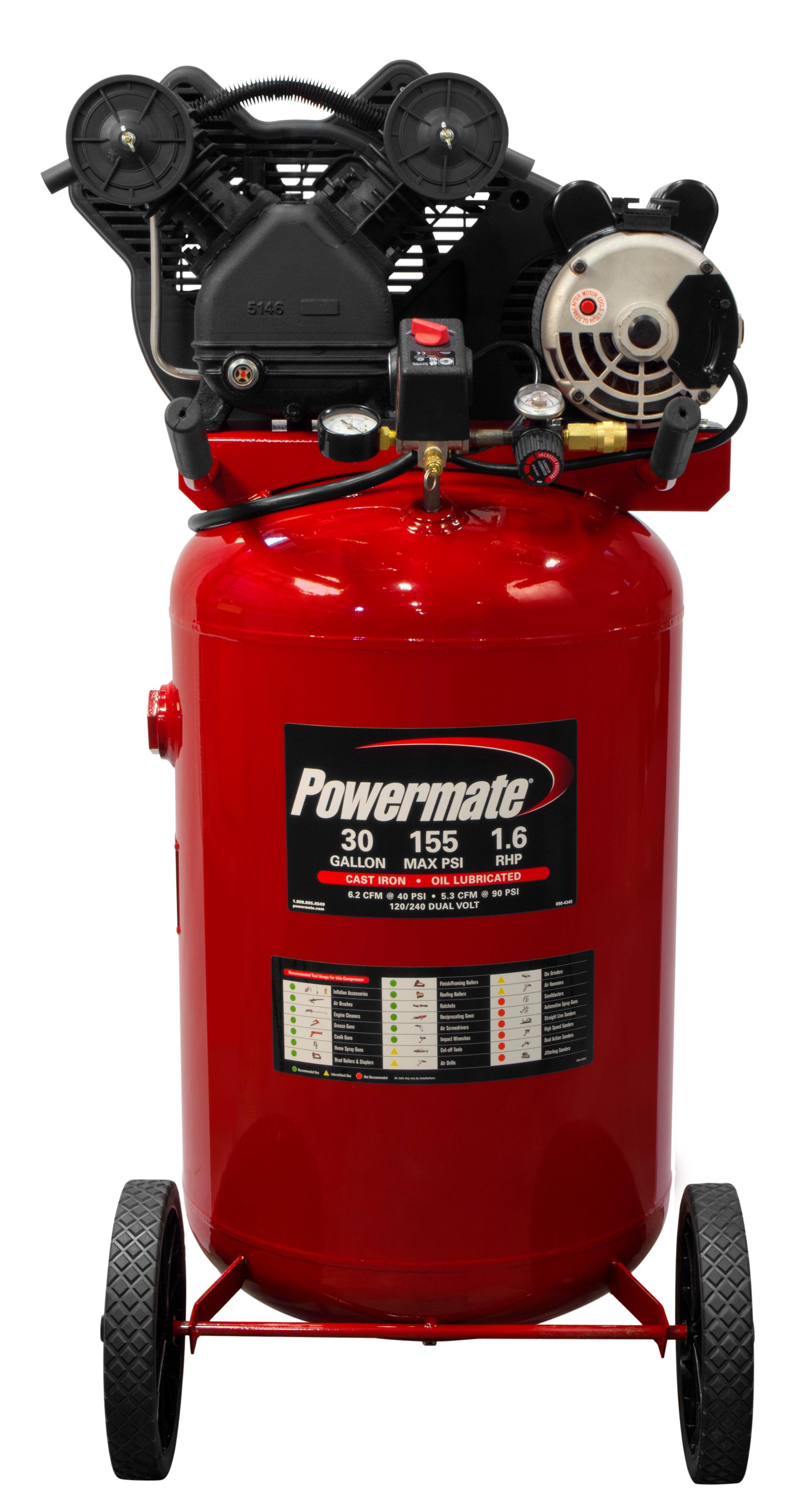 Amazon.com: Powermate Vx PLA1683066 30-Gallon Portable