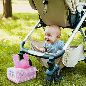 Amazon.com: Bolsas de pañales desechables para bebé, 100 ...
