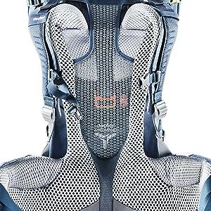 Aircomfort; Vari Slide; rygglängd, ryggsystem, rygg; system, system, bärsystem, ventilation