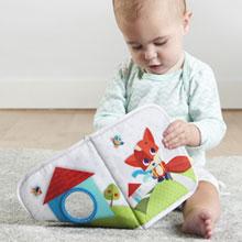 Tiny Love, Jouets pour bébés, Livre en tissu Mes voyages