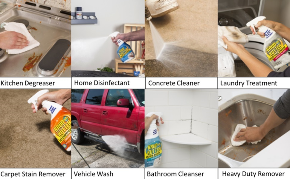 Krud Kutter Home Perfect for Cleaning Nearly Any Household Stain or Surface
