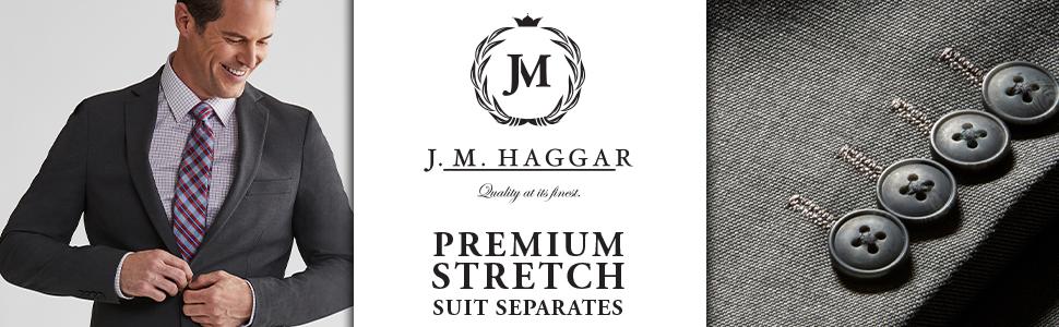 J.M. Haggar, Haggar Suit Separates, Suit Separates for Men, Men's Suits, Men's Jacket's, Men's Pants