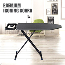 HOUZE - Premium Ironing Board : Non-Toxic Washable Cover