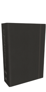 NKJV, Journal the Word Bible, Leathersoft, Black, Red Letter