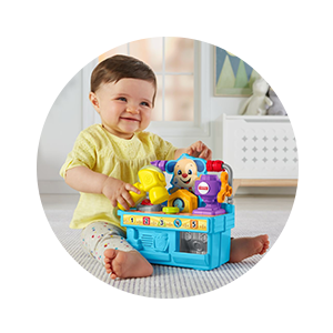 Buy Fisher Price Laugh And Learn Busy Learning Tool Bench Online At Low Prices In India Amazon In