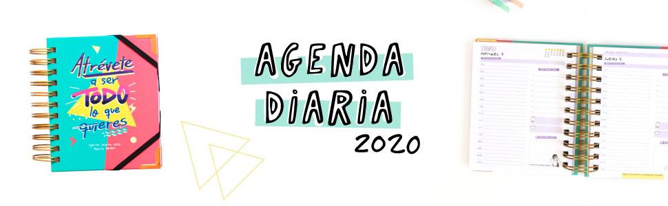 Agenda 2020 diaria de bolsillo - Pedrita Parker