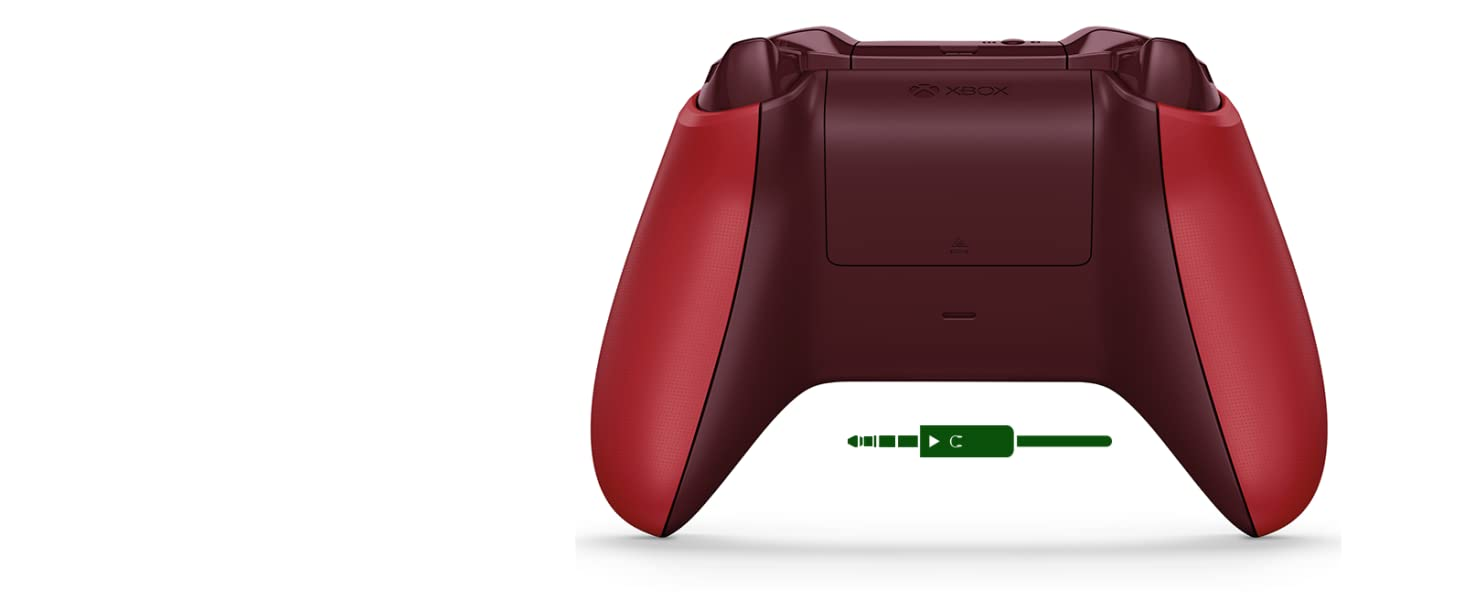 Microsoft - Mando Inalámbrico, Color Rojo (Xbox One), Bluetooth ...