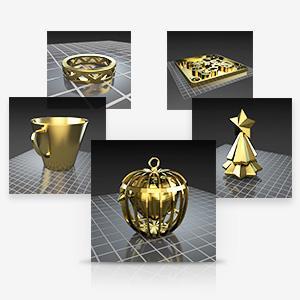 Online Gallery, FREE 3D model