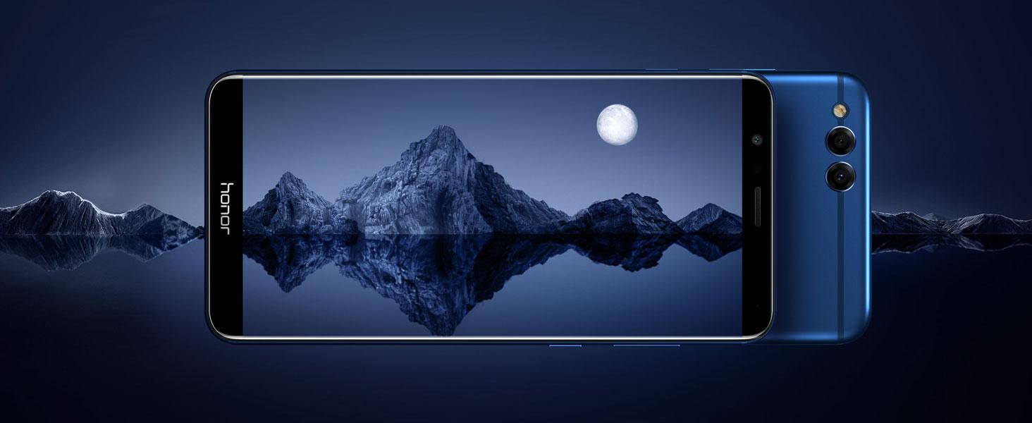 Honor 7X - Ausdauernder Akku - 16 MP Dual-Kamera - Metal Design - 18:9 FullView Display - 4GB + 64GB