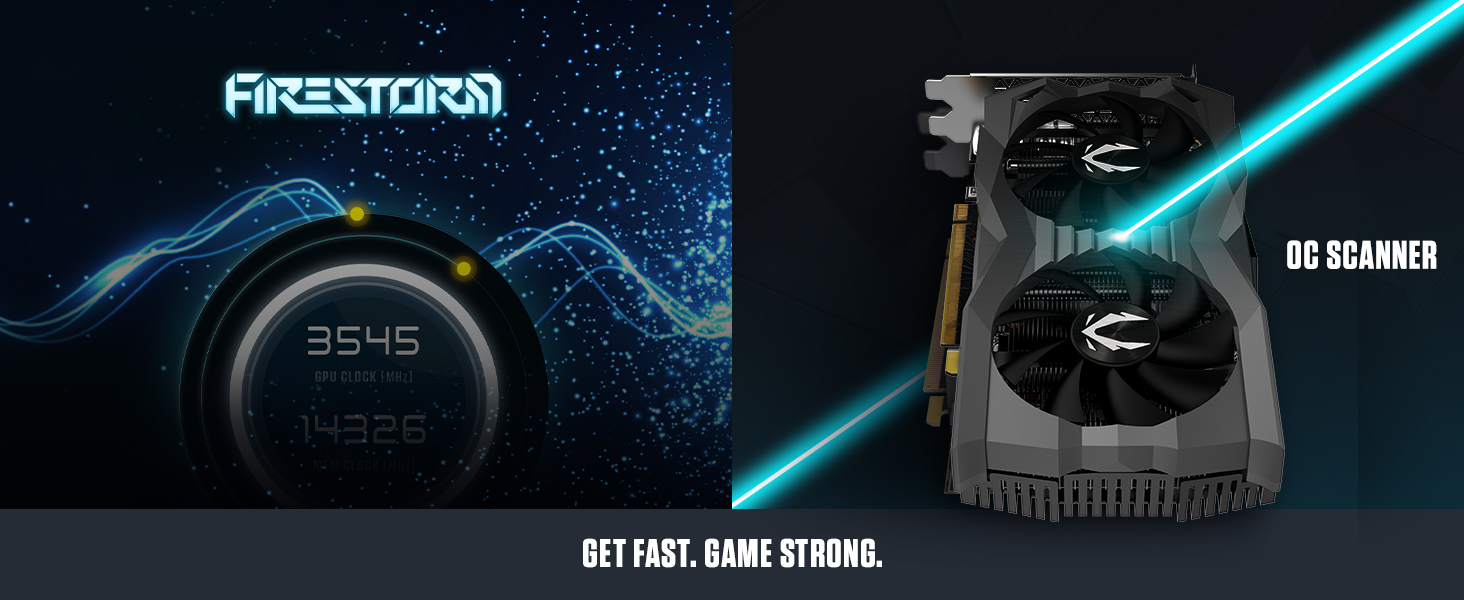 ZOTAC Gaming GeForce GTX 1660 Ti AMP 6GB GDDR6 192-bit Graphics Card Super Compact IceStorm 2.0 Cool