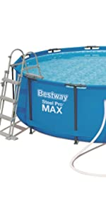 Bestway Piscina Steel Pro Max cm. 305 x 76 cm, color: Amazon.es ...