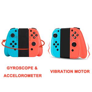 Gyroscope & Accelerometer & Dual Vibration Motor
