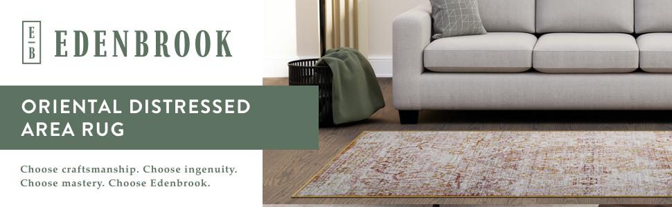 Oriental rug cream colored rug