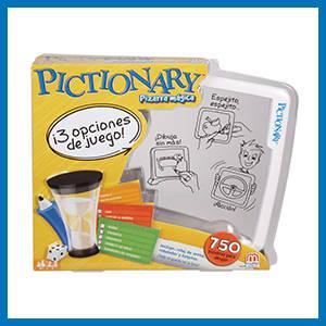 Mattel Games Pictionary pizarra mágica, juego de mesa infantil (Mattel BGG29): Amazon.es: Juguetes y juegos
