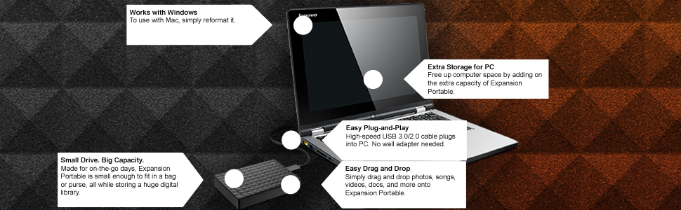 expansion, expansion portable, external drive, external storage, usb 3.0, portable drive, hdd