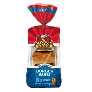 Canyon Bakehouse Gluten-Free Burger Buns