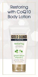 Anti-aging lotion to protect against free radicals.