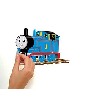 Peel And Stick Decals Are Fast And Fun. Quick And Easy To Apply, RoomMates Thomas  The Tank Engine Wall ... Part 55