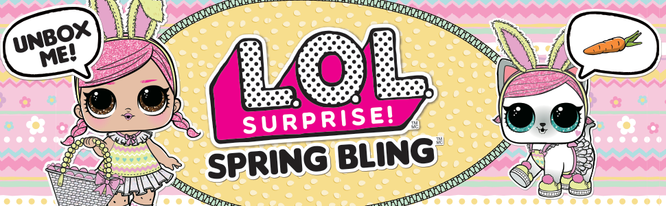 Amazon Com L O L Surprise Spring Bling Limited Edition Pet With 7 Surprises Multicolor Model 570424 Toys Games