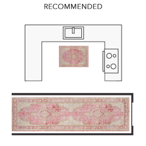 momeni isabella rug pink traditional carpet turkey transitional over dye distressed floor covering